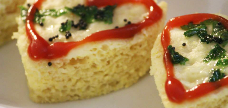 Dhokla from Dosa batter