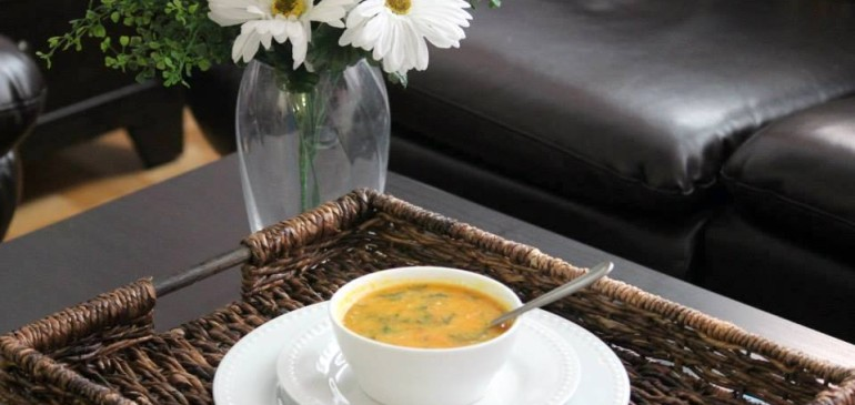 Methi dal ( Fenugreek legume soup)
