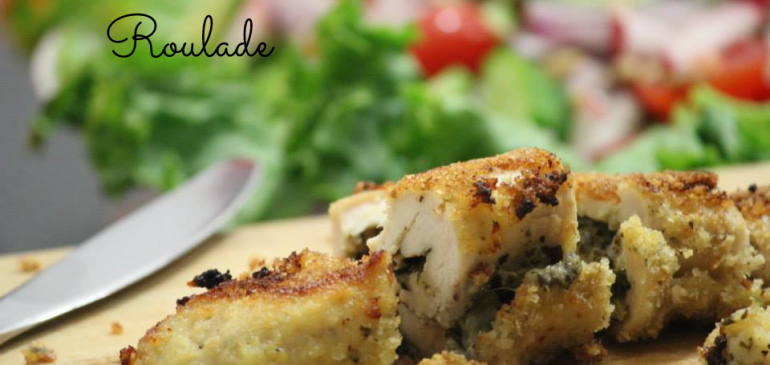 Pesto Chicken Roulade