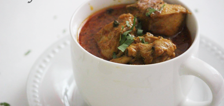 Nagpur Saoji Chicken curry