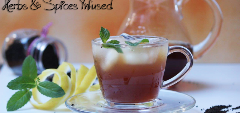 Herb & Spices Infused Ice Tea