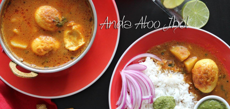 Anda Aloo Jhol ( Egg Curry )