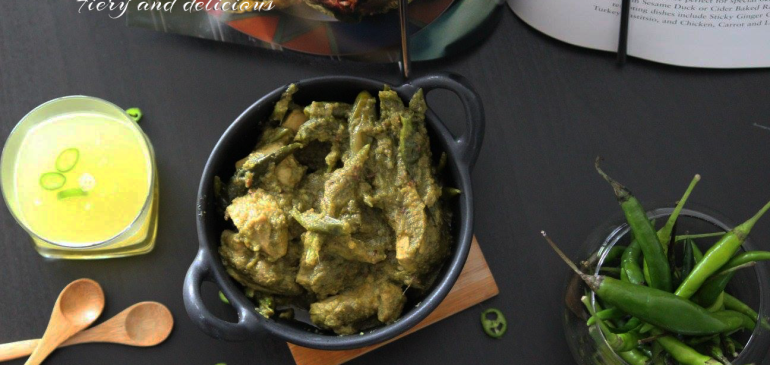 Green Chilli Chicken – Fiery and delicious for bravehearts