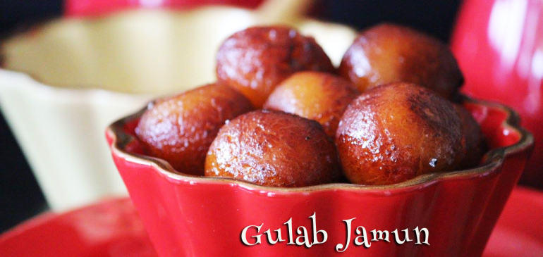 Gulab Jamun from Milk Powder
